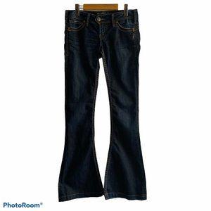 Silver Women's 26X33 Bell Low Rise Jeans